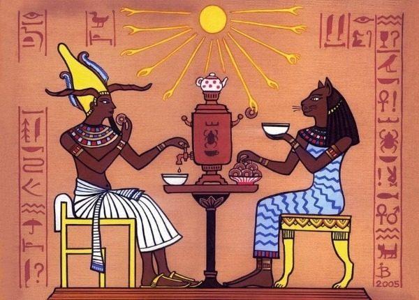 Мумификации и погребения кошек в Египте
