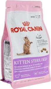 Виды кормов Royal Canin для стерилизованных кошек: особенности