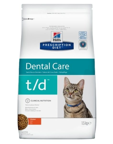 Ветеринарное питание для лечения зубного камня.